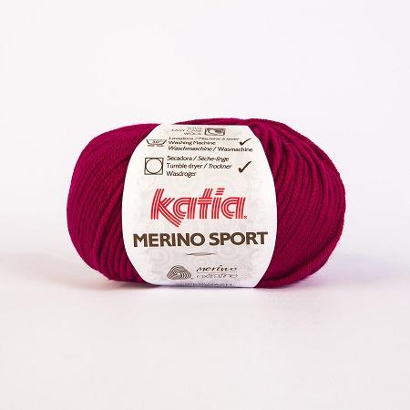 MERINO SPORT von Katia 44 MOSTAZA 80 m Wolle - 50 g // ca